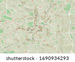 vector city map of milan with... | Shutterstock .eps vector #1690934293