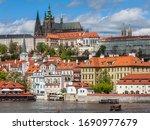 Prague  Czech Republic   Circa...