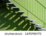 Stairs With Balustrade And...