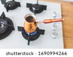 Old Copper Turk Wirh Coffee...