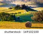 tuscany  italian countryside ... | Shutterstock . vector #169102100