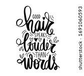 vector handwritten lettering... | Shutterstock .eps vector #1691060593