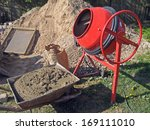 Mobile Electric Cement Mixer...