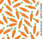 Seamless Pattern With Carrots....