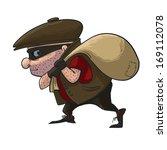 e,saco,banco,assaltante,penal,lanterna,mão,tem,pintura,polícia,executando,roubar,restolho,sistema,ladrão