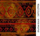 watercolor ethnic african... | Shutterstock . vector #169112906