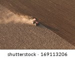 aerial view of harvest fields...   Shutterstock . vector #169113206