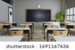 Classroom Design With Modern...