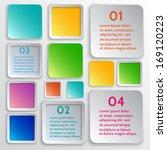 vector infographic design... | Shutterstock .eps vector #169120223