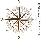 geography science old compass... | Shutterstock .eps vector #1691291500
