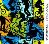 abstract seamless grunge...   Shutterstock .eps vector #1691400439