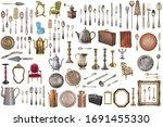 Huge Set Of Antique Items...
