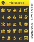 modern simple set of microscope ...   Shutterstock .eps vector #1691479549
