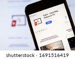 los angeles  california  usa  ... | Shutterstock . vector #1691516419