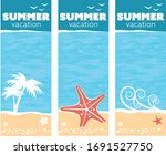 A Tropical Sea Summer Vacation...