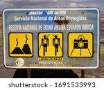 laguna colorada in the reserva... | Shutterstock . vector #1691533993