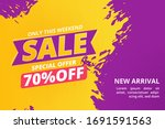 special offer sale discount... | Shutterstock .eps vector #1691591563
