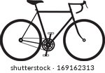 classic mens town   dutch bike... | Shutterstock .eps vector #169162313