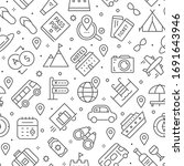 vector seamless pattern with...   Shutterstock .eps vector #1691643946