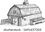 vector illustration of farmers... | Shutterstock .eps vector #1691657203
