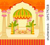 vector illustration of indian... | Shutterstock .eps vector #169179218