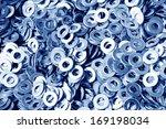 gasket  a kind of ardware...   Shutterstock . vector #169198034