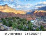 Salt River Canyon At Sunrise ...