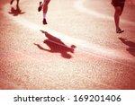 racing shadows | Shutterstock . vector #169201406