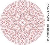 Celtic Star Circular Pattern...