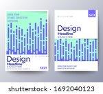 modern abstract fluid neon... | Shutterstock .eps vector #1692040123