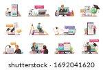 online education professional... | Shutterstock .eps vector #1692041620