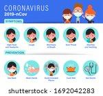 2019 ncov covid 19 virus... | Shutterstock .eps vector #1692042283