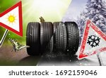 Small photo of Swap winter tires for summer tires - time for summer tires