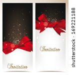 elegant vector holiday banners...   Shutterstock .eps vector #169221188