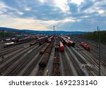 Freight Station Panorama In...