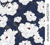 beautiful seamless floral... | Shutterstock .eps vector #1692237760