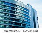 modern architecture bank... | Shutterstock . vector #169231133