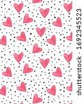 Heart Pink Patterns  Heart...