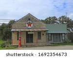 Old Abandoned Gas Station In...