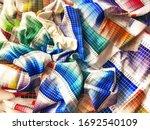 A Palette Of Multi Colored...