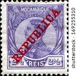 mozambique company   circa 1912 ... | Shutterstock . vector #169255310