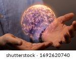 Internet Net And Data Digital...