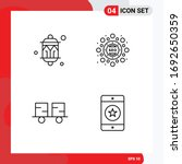 4 creative icons modern signs... | Shutterstock .eps vector #1692650359