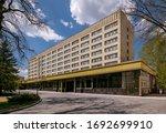 stavropol  russia   april 28 ...   Shutterstock . vector #1692699910