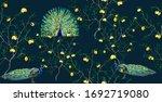 exotic chinoiserie wallpaper... | Shutterstock .eps vector #1692719080