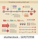 presentation timeline chart... | Shutterstock .eps vector #169272938