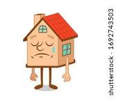 artoon character of sorry sad... | Shutterstock .eps vector #1692743503
