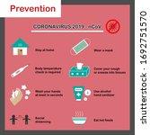 coronavirus 2019 ncov... | Shutterstock .eps vector #1692751570