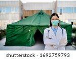 Brave Coronavirus Paramedic In...