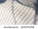 snow texture with shadows  ... | Shutterstock . vector #169294298